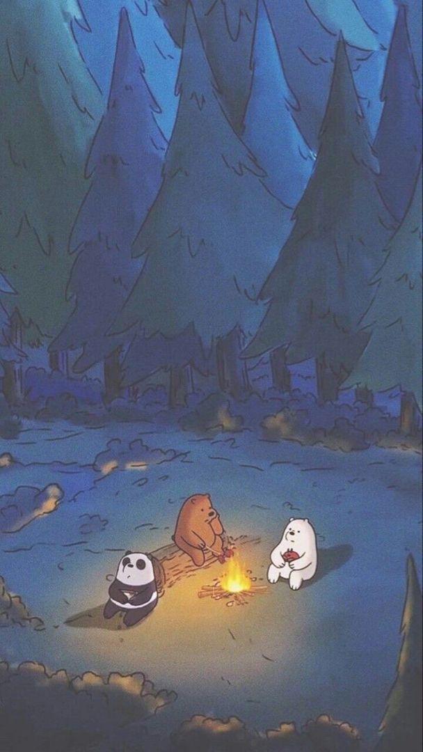 Cute Hd Phone Wallpaper Bear Wallpaper Cartoon Wallpaper We Bare Bears Wallpapers
