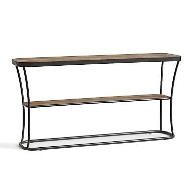 bartlett reclaimed wood console table shelter pinterest rh pinterest ca