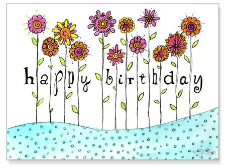 drawing this for my mums birthday 3 pretty things – Birthday Cards for Mom