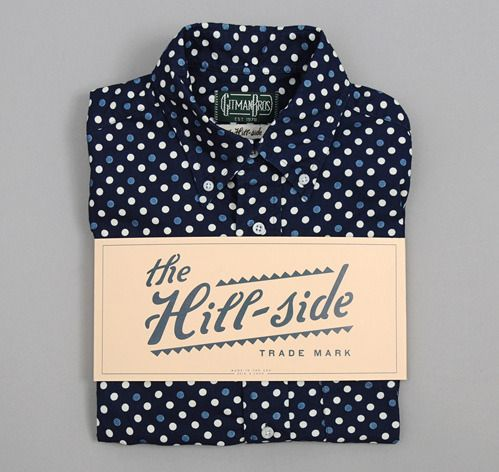 <> Gitman Brothers Vintage - The Hill-Side Short-Sleeve Shirt
