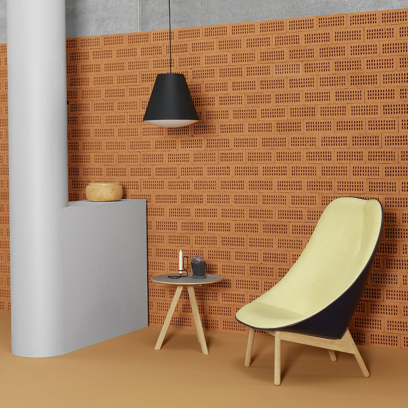 Delightful Uchiwa Lounge Chair, Designed By Doshi Levien For HAY. Also In Picture:  Sinker Amazing Design