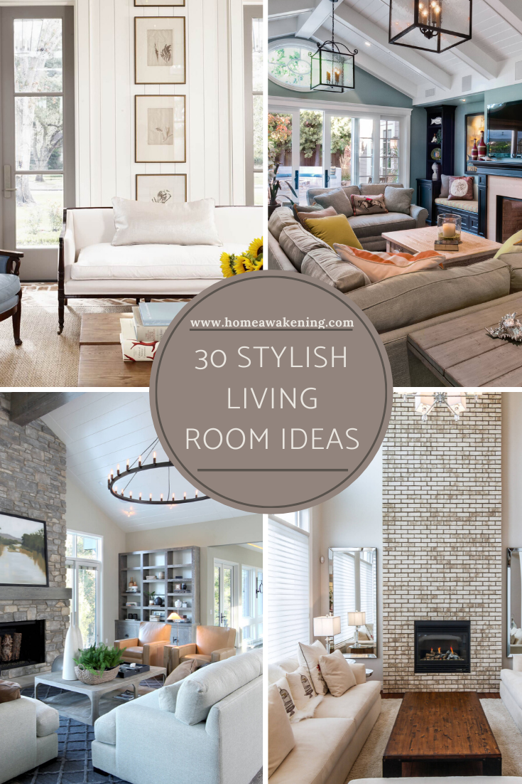 30 Stylish Living Room Designs That Work - Home Awakening in 2020 | Stylish living  room, Living room recliner, Living room designs