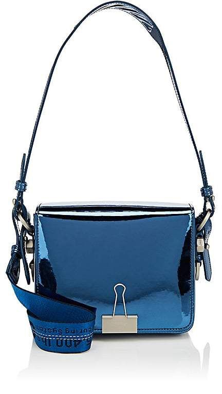 Off-white Womens Binder-Clip Small Leather Crossbody Bag fhnzZKn