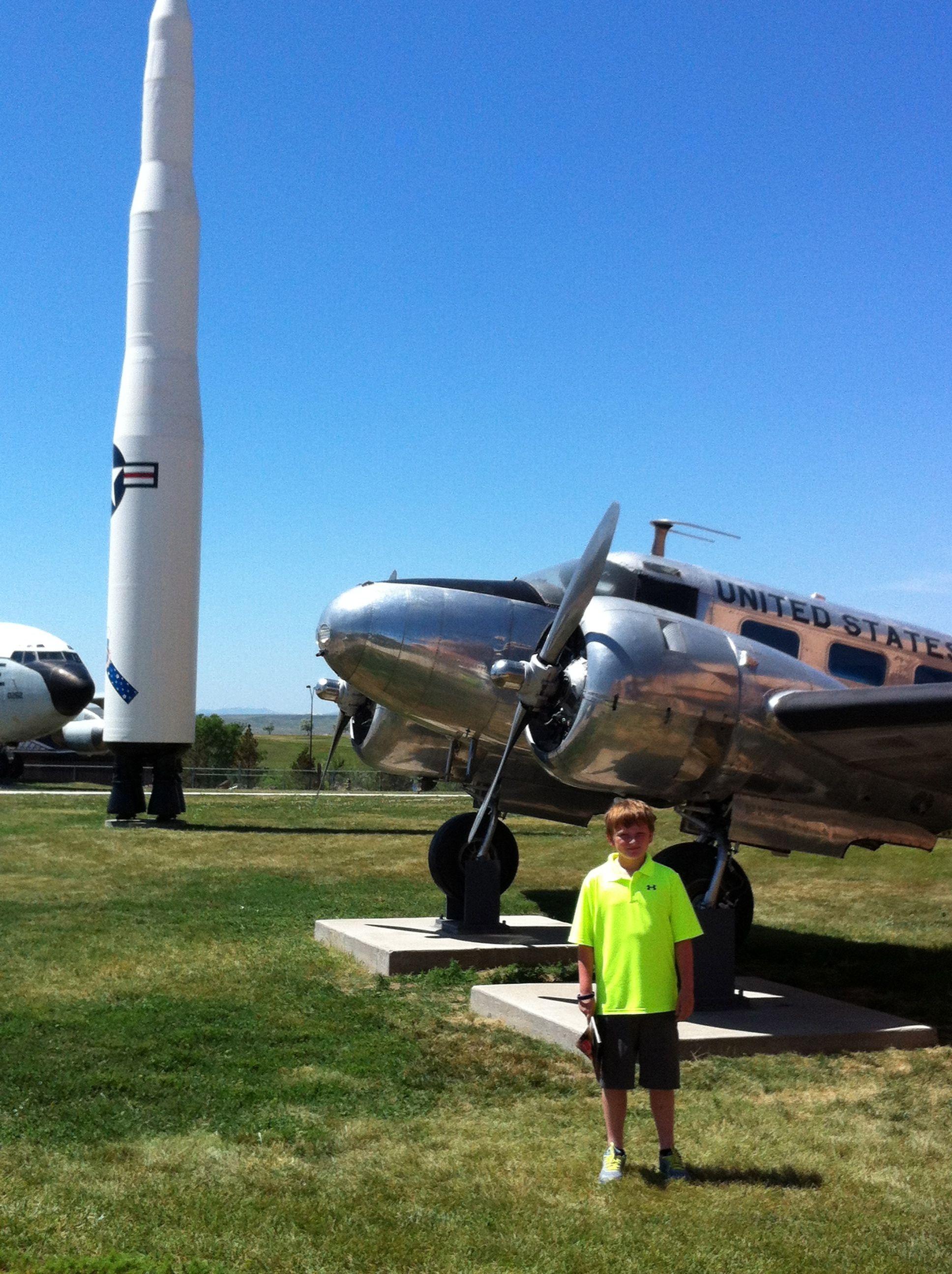 South Dakota Air and Space Museum, Ellsworth Air Force