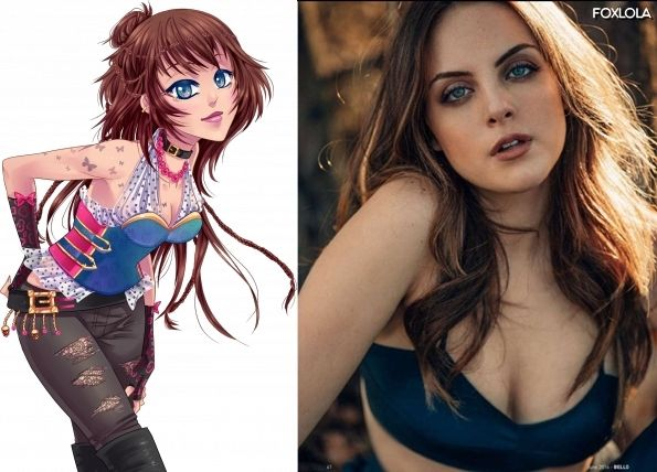 Debrah - Elizabeth Gillies (Dynasty, Victorious). Amour Sucré, Amor Doce, My Candy Love, Live Action.
