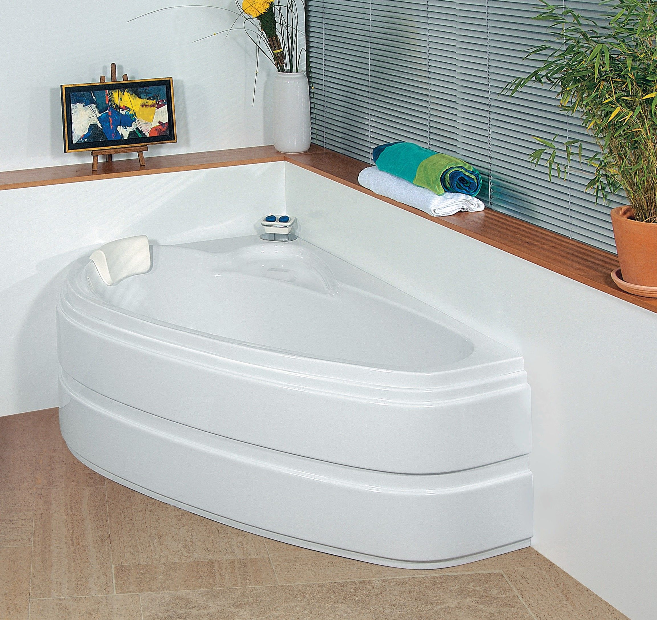 Baignoire Balneo Elba 160 X 105 Cm Corner Bathtub Bathtub Bathroom