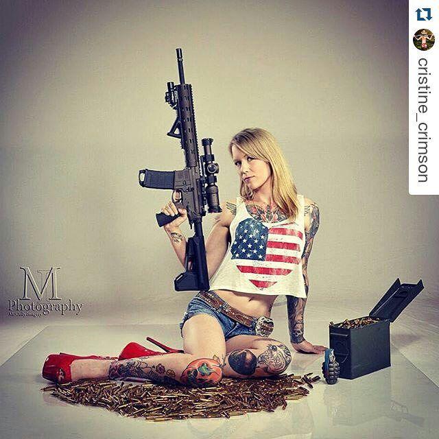 Instagram 上的 Girls Guns & Cars:「 Happy 4th Of July, Photo
