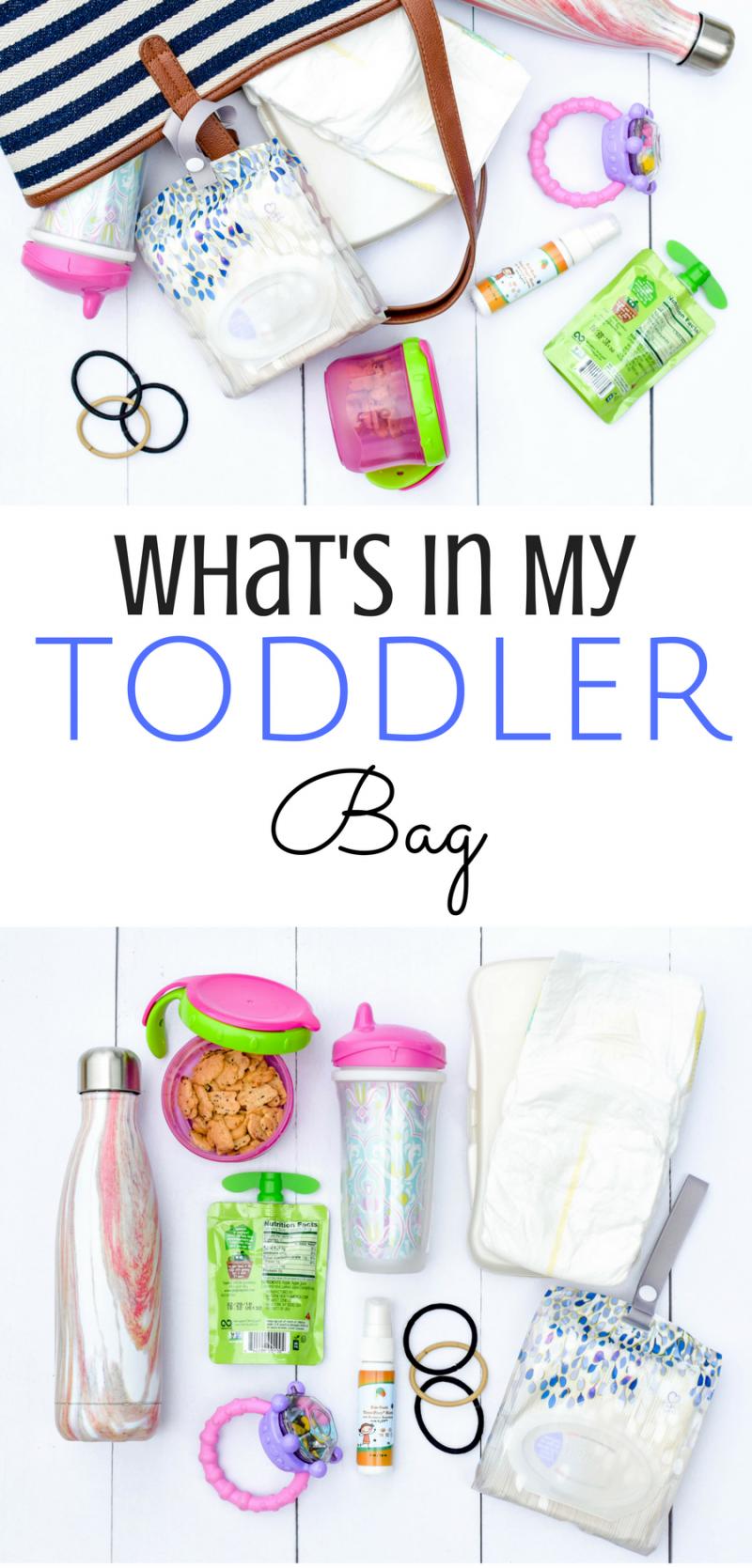 Toddler Stuff Diaper Bag Kid Essentials Kleenex Go Anywhere Packs Cups Snacks Toys Children Paing