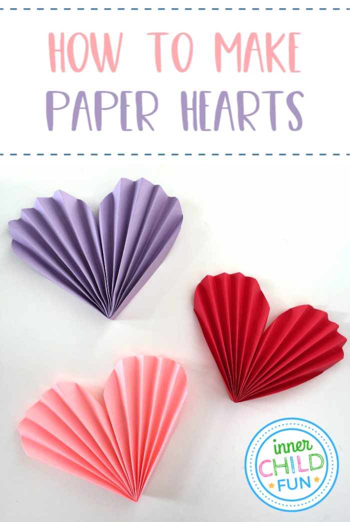Photo of How to Make a Heart Out of Paper – Inner Child Fun