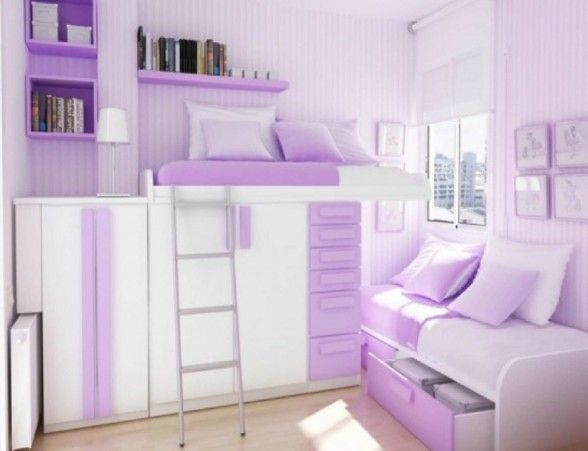 Extraordinary Impression For Your Minimalist Purple Bedroom Mis Interesting Light Purple Bedrooms Minimalist Decoration
