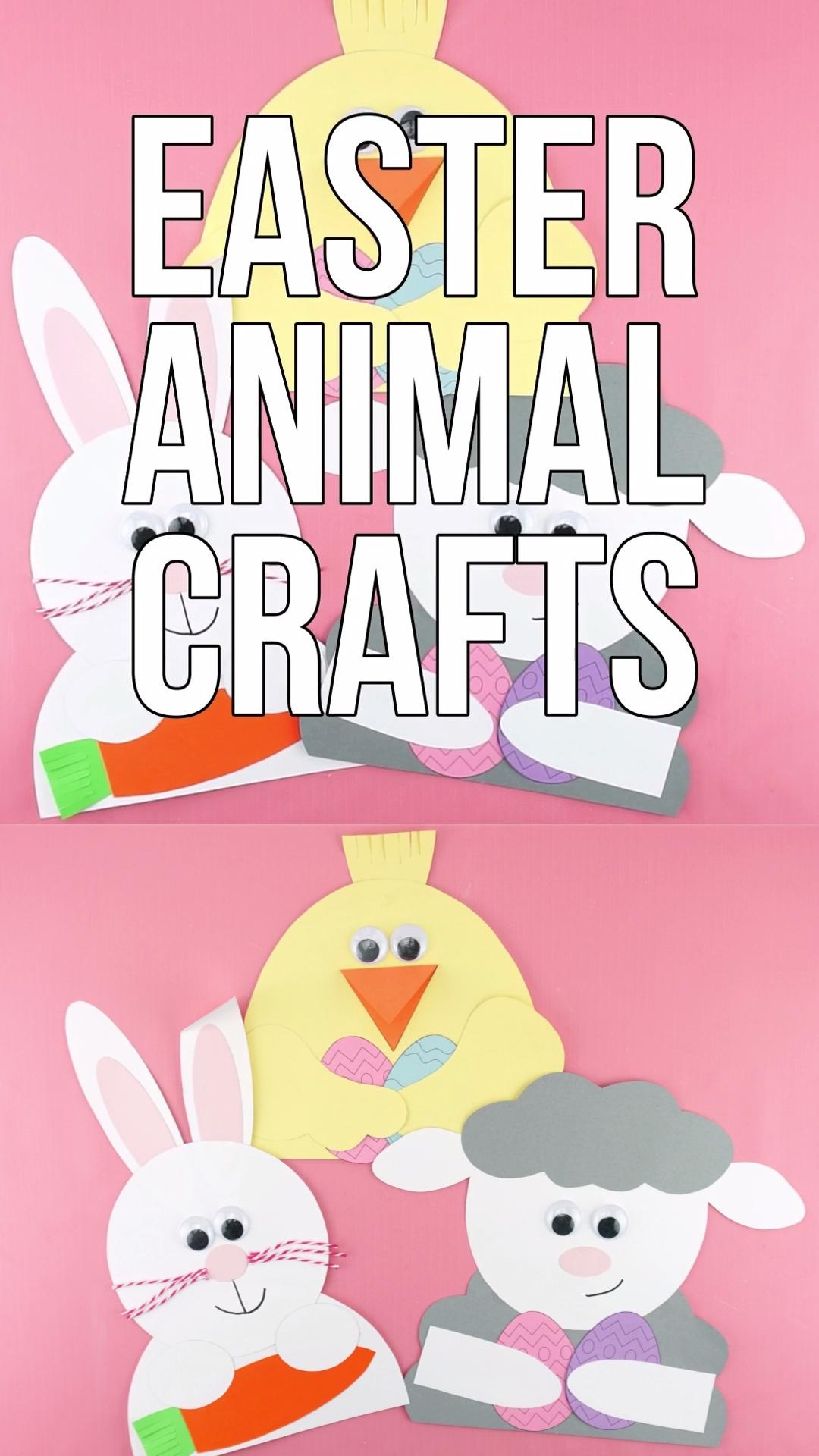 Easter Animal Crafts for Kids