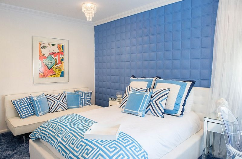 Blue And White Bedroom Design Best Blue And White Interiors Living Rooms Kitchens Bedrooms And Design Inspiration