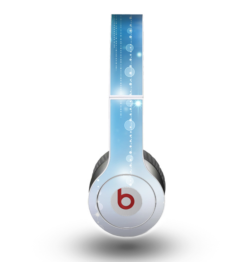 The Translucent Blue & White Jewels Skin for the Beats by Dre Original Solo-Solo HD Headphones