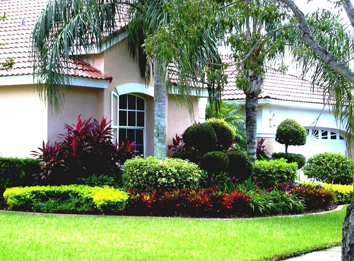 30 Awesome Flower Garden Design For Your Front Yard Florida
