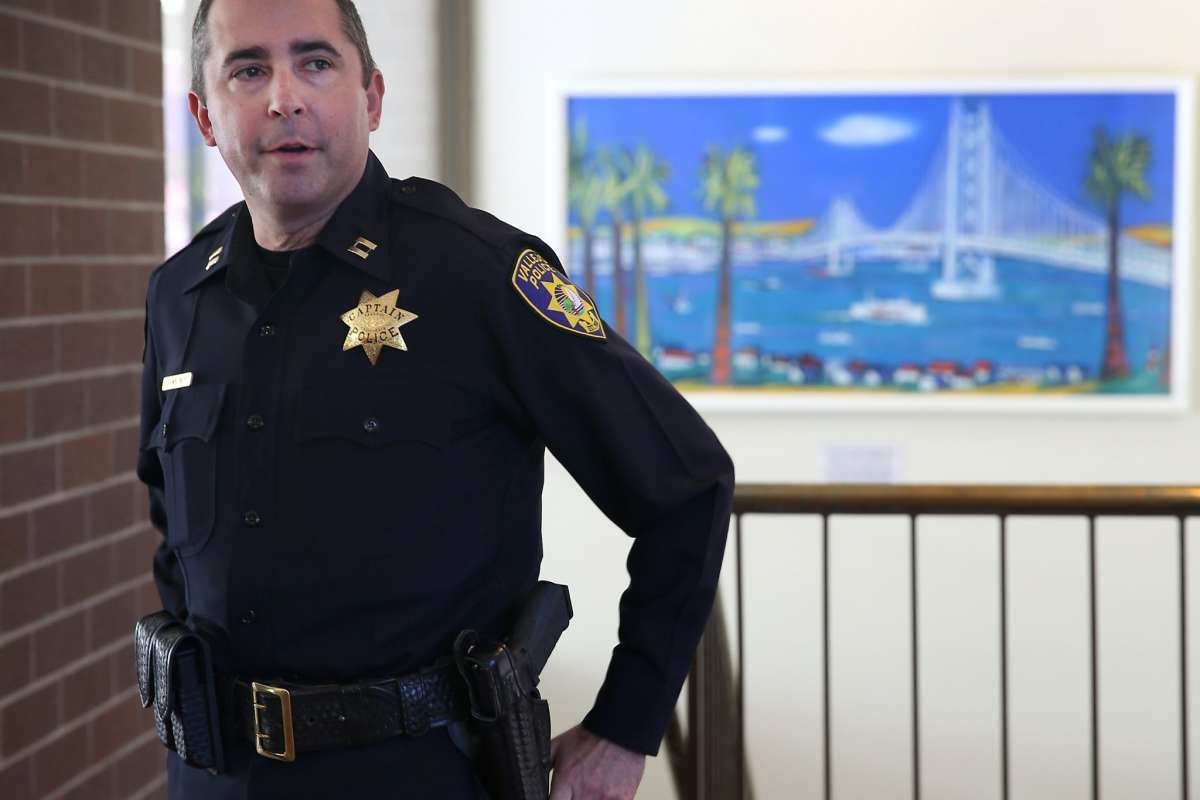 Vallejo Police Chief To Open Inquiry On Allegations That Officers Bent Badges To Mark Killings Police Chief Police Police Force