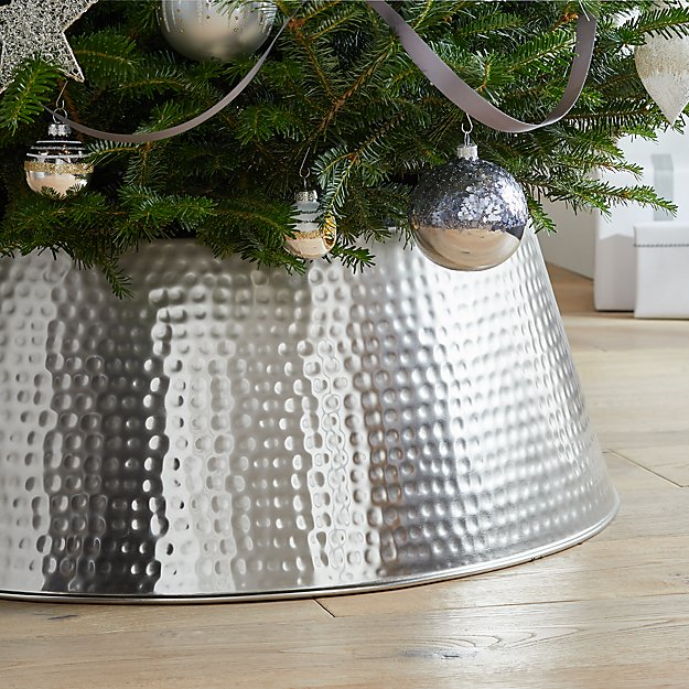 Bash Silver Tree Collar + Reviews Crate and Barrel