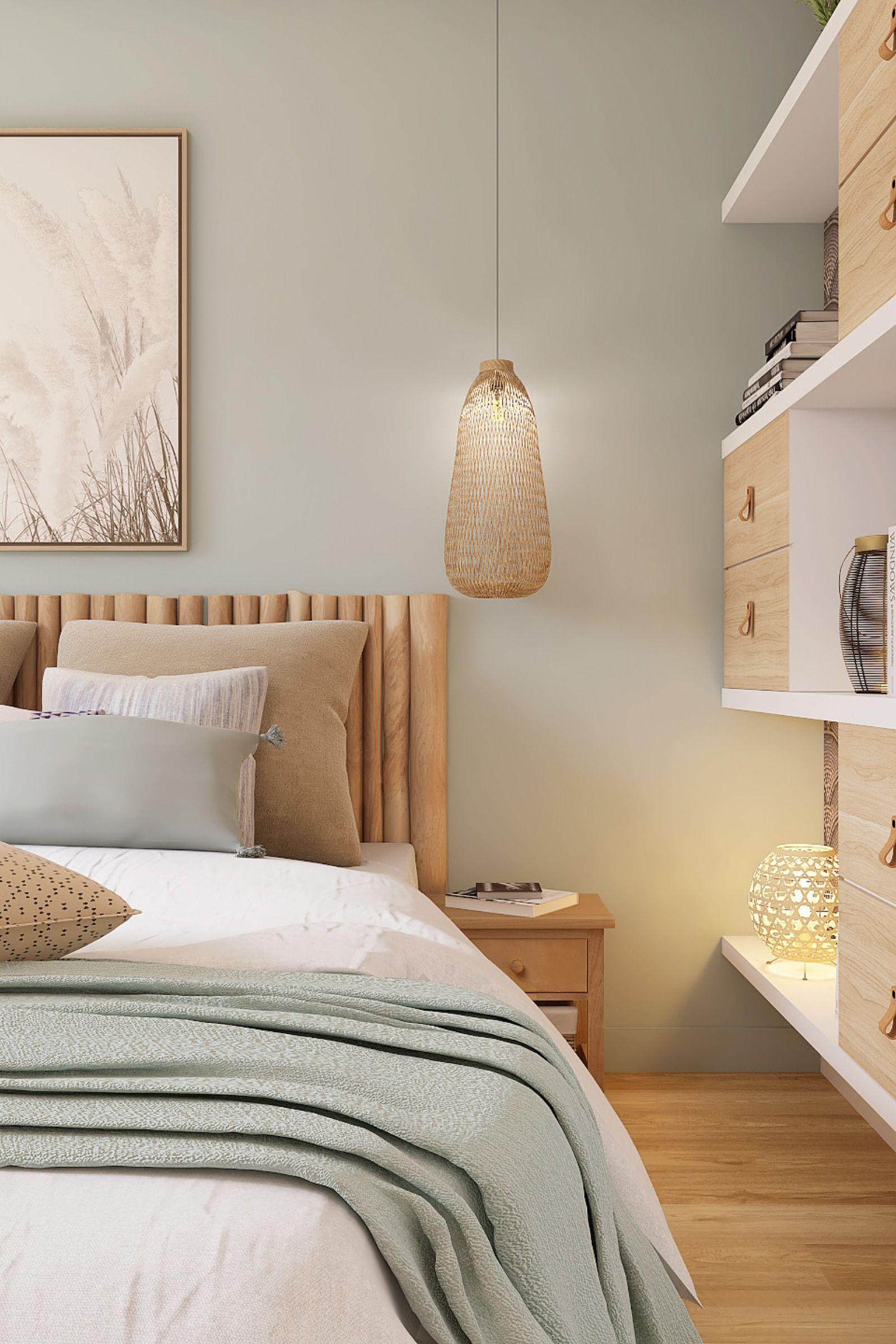 Chambre style bord de mer #chambreparentale en 18  Chambre à