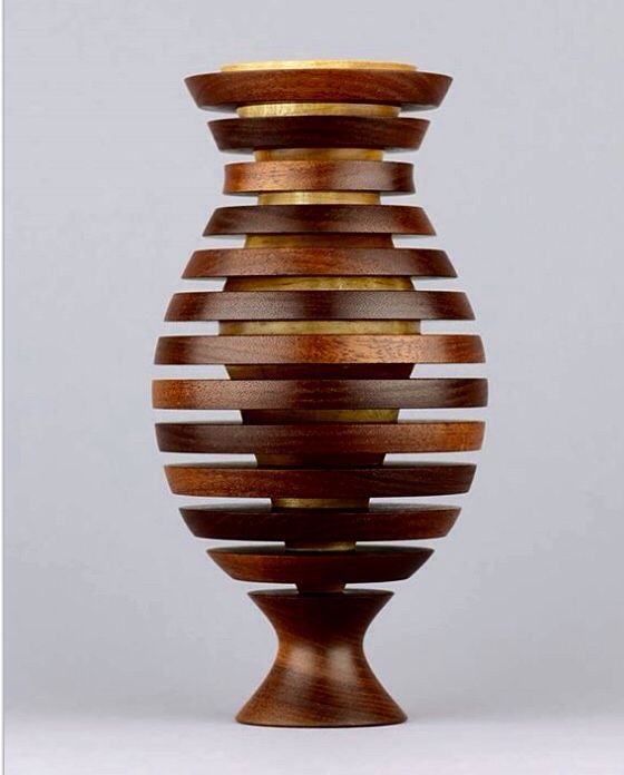 Double Vase Wood Turning Lathe Wood Turning Projects Wood Vase