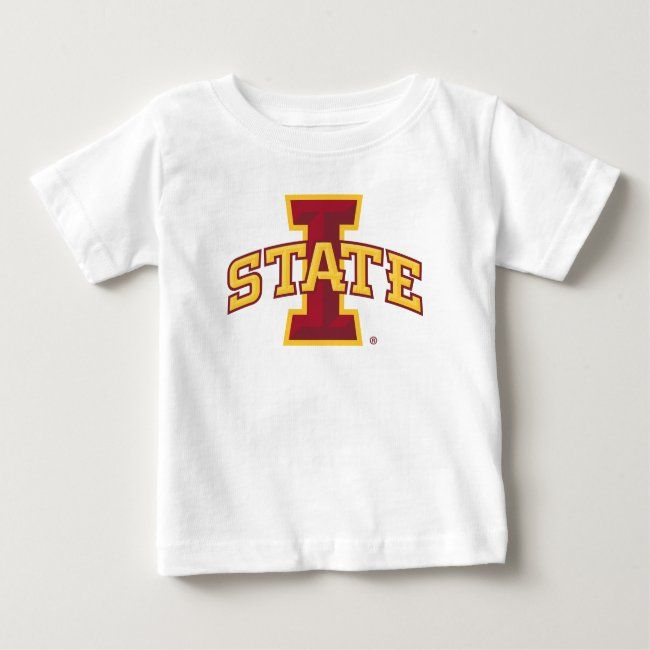 Iowa State University | Iowa State Arched Logo Baby T-Shirt | Zazzle.com
