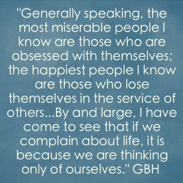 How To Be Happy By Gordon B Hinckley Quotes Pinterest Frases