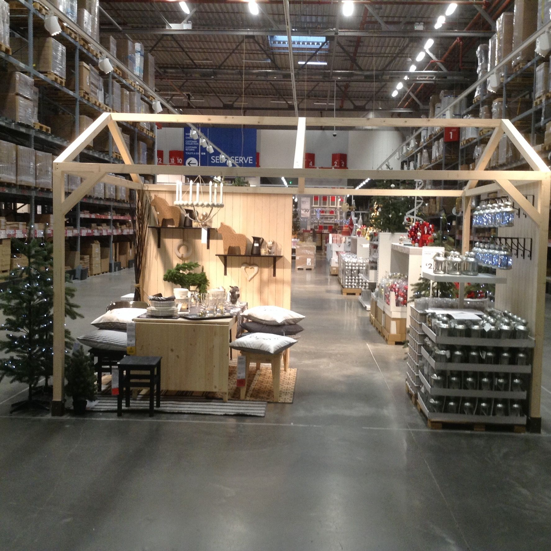 Scandinavian Christmas In IKEA Belfast