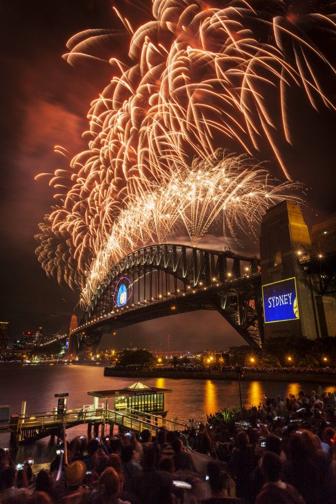 New Years Eve in Sydney Harbour Australia in 2019 New