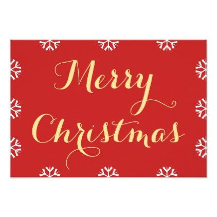 Create Merry Christmas Personalized Custom Holiday Card