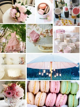 Superb Bridal Shower Garden Party Inspiration : Wedding Bridal Shower Decor Garden  Party Vintage Shower Inspiration Board