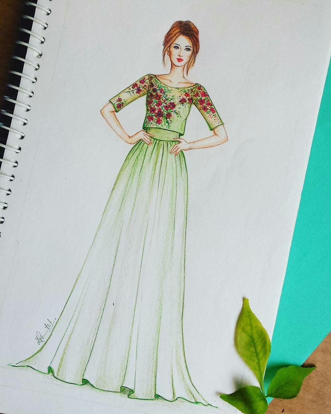 Pin By Manvi Verma On Awesome Art Illustration Fashion Design Dress Design Sketches Fashion Illustration Sketches Dresses