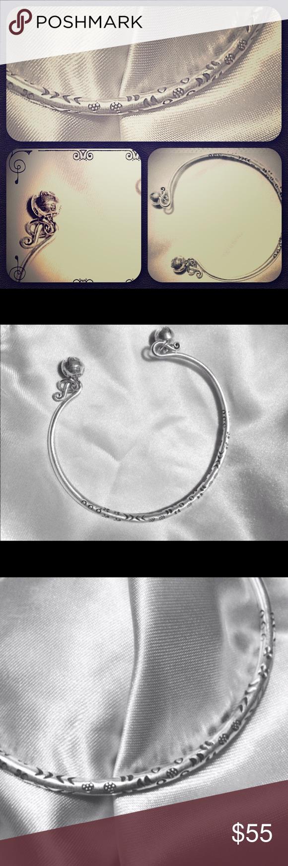 🌺NWT STERLING SILVER BRACELET🌺 🌹Beautiful Intrigue Design Sterling Silver Adjustable Bracelet Jewelry Bracelets