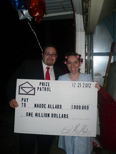 Publisher's Clearing House Winners costume | Halloween | Publisher