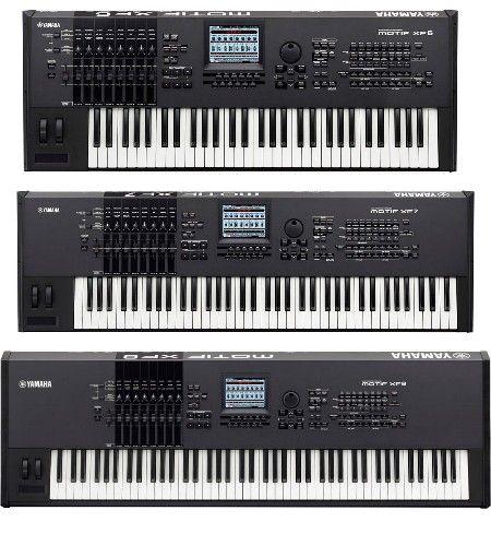 Yamaha Motif XF6, XF7, XF8 | Keys | Yamaha keyboard