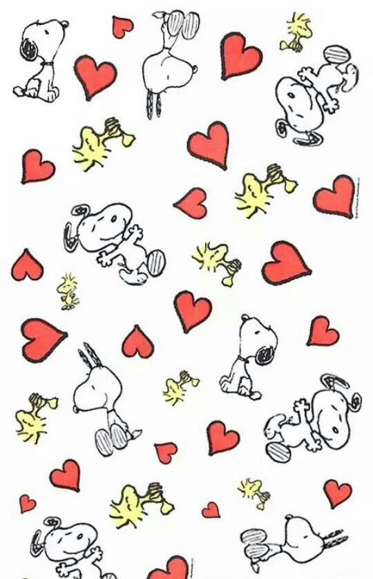 Snoopy Snoopy Wallpaper Snoopy Valentine Snoopy