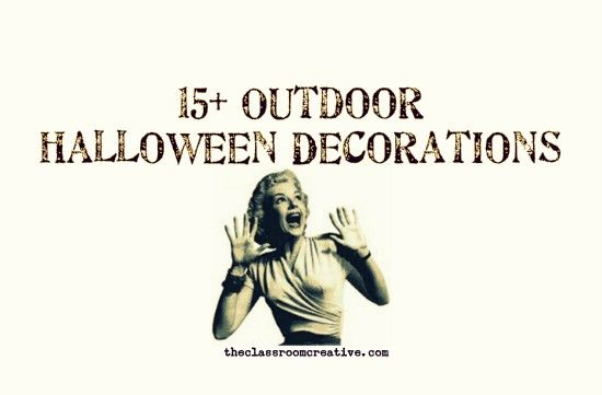 Make the outside of your house ROCK this Halloween! Halloween - how to make halloween decorations for yard
