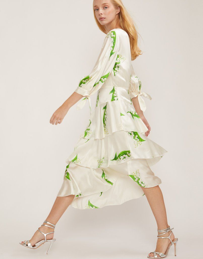 ef764114c59fd Florence Lily of the Valley Print Maxi Dress – Cynthia Rowley ...