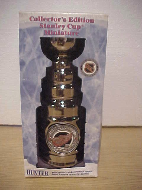 promo code b9a44 f9510 HUNTER MANUFACTURING 1997 DETROIT RED WINGS STANLEY CUP MINI ...