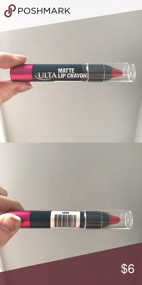 "Ulta Lip Crayon Brand new lip crayon! ""Shine"" color! Will"