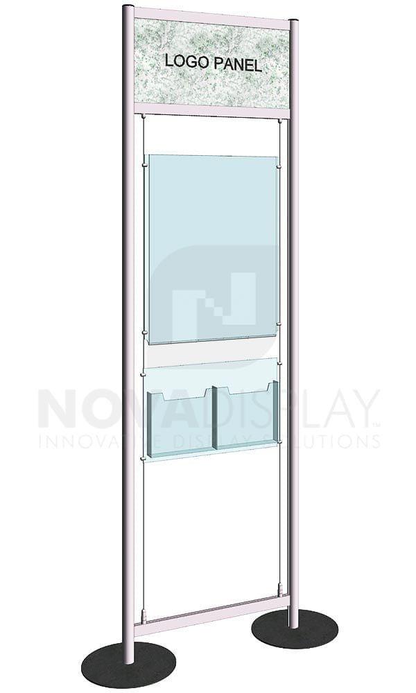 Versa Module Free Standing Display Kit Kfmr 033 In 2020 Store Signage Display Poster Display
