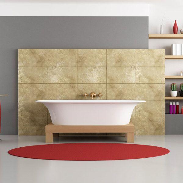 Quelles couleurs pour agrandir une pi ce salle de bain - Peinture pour agrandir une piece ...