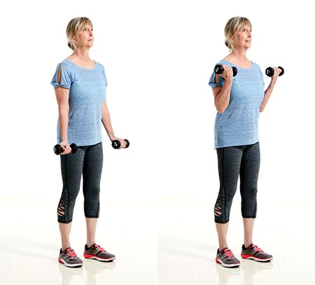 arm workout 5 simple moves for strong arms