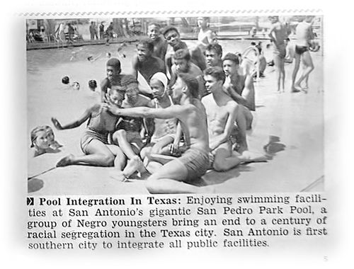 San Antonio Texas Finally Lets Black People Into Public Swimming Pool