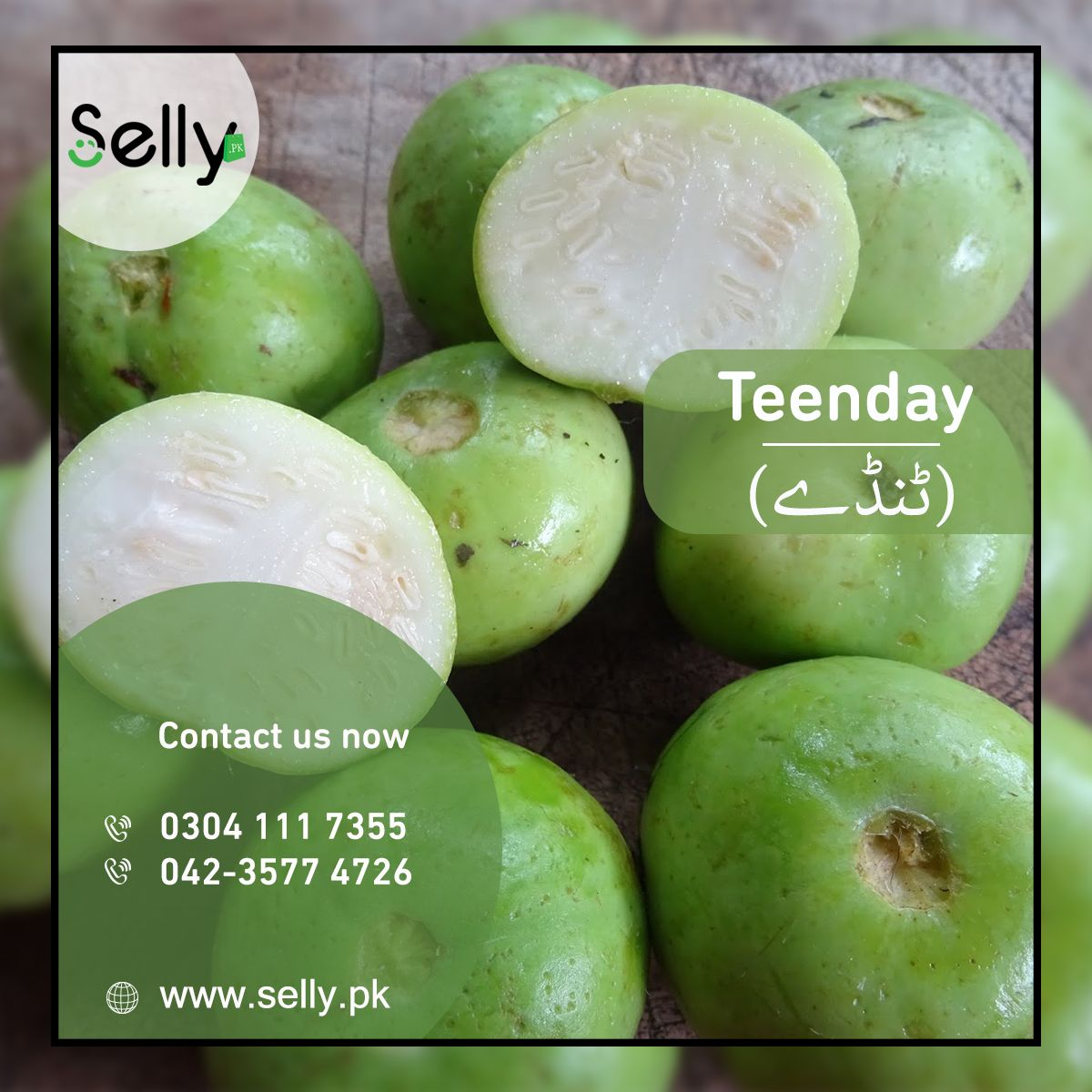 Tinday Indiansquash Roundmelon Is A Notoriously Famous Vegetable