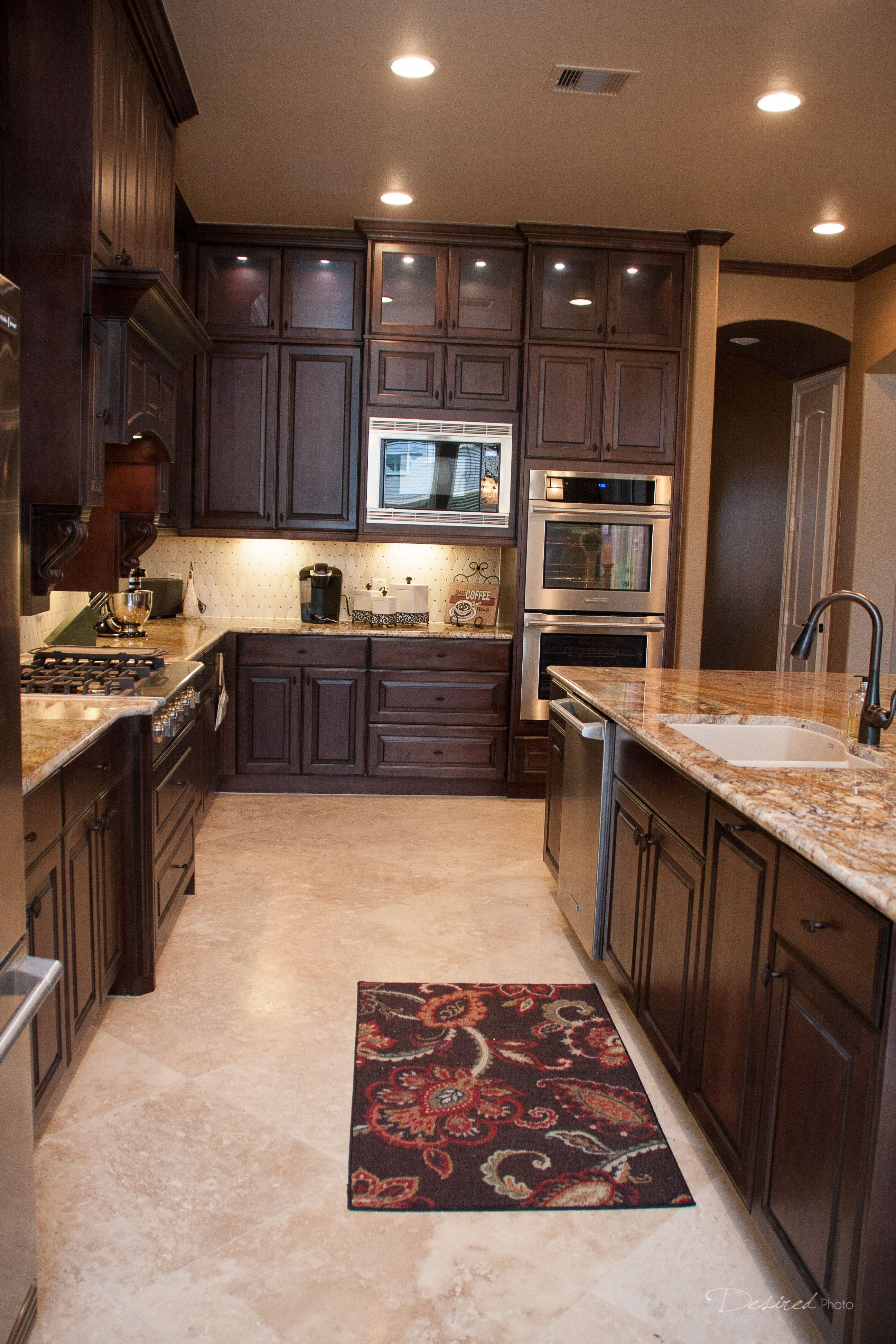 kitchen remodel completed by griffin construction in