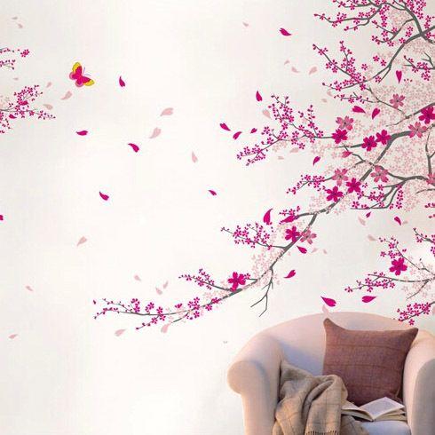 Cerezo Japones Pared Buscar Con Google Muebles Con Palets Jardin Muebles Con Palets Decoracion De Unas