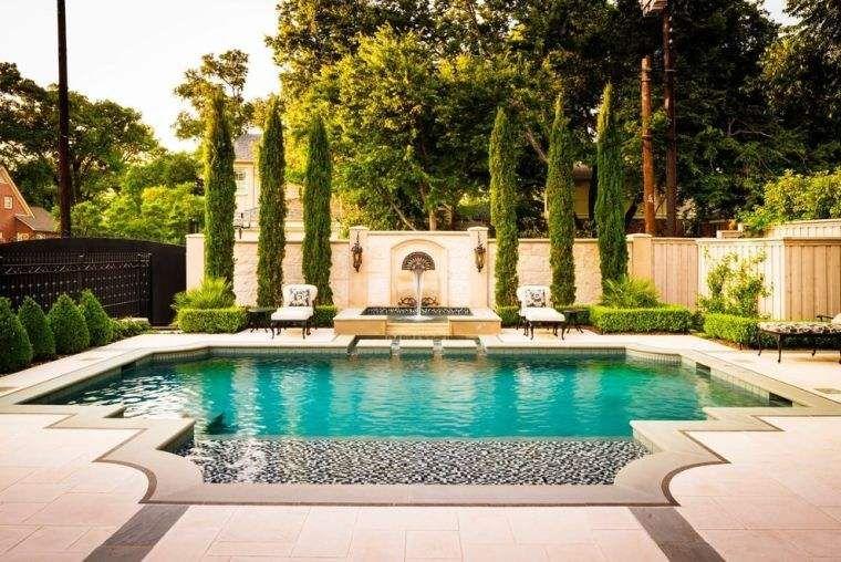 Giardini Moderni Con Piscina : Creare un giardino domestico moderno con piscina in stile