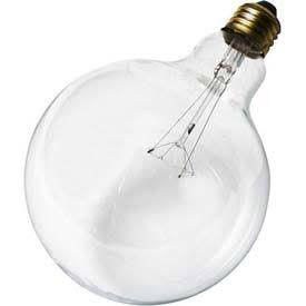Satco S3010 25w 120v Globe G40 Clear E26 Base Incandescent Light Bulb Light Bulb Bulb