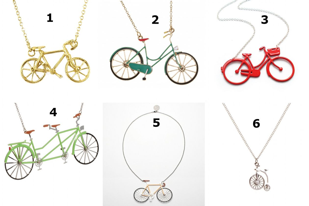 Cycle Style 6 Of The Best Bicycle Necklaces Total Women S Cycling Bicycle Necklace Bicycle Jewelry Bike Necklace