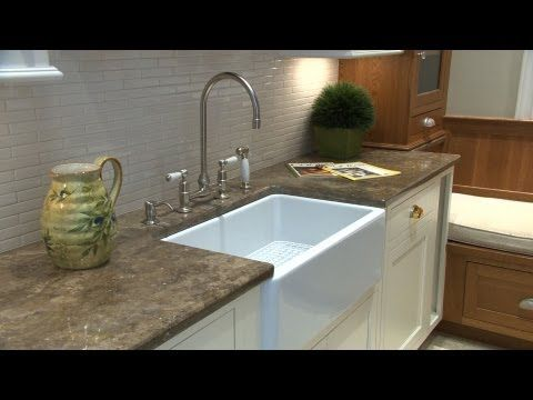Buying A New Kitchen Sink Advice From Consumer Reports Youtube Replacing Kitchen Countertops White Kitchen Sink Farmhouse Sink Kitchen