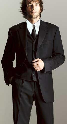 0f20edfa2fa0b0 Luxurious Men's 3 Button Super 150's Worsted Wool Tuxedo | Fashion ...