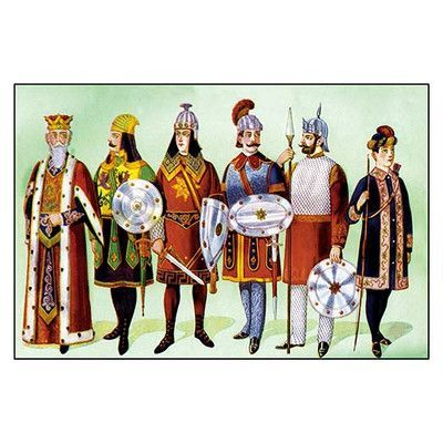 Buyenlarge Odd Fellows Costumes For Kings And Captains Painting Print Art Odd Fellows Painting Prints